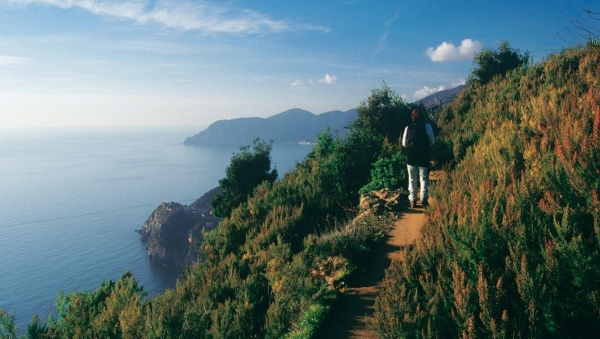 To the discovery of nature in the Cinque Terre
